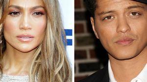 Jennifer Lopez und Bruno Mars