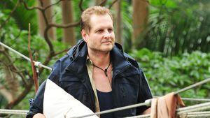 Jens Büchner bei seinem Auszug aus dem Dschungelcamp