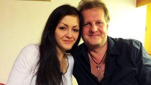 Jens Büchner mit seiner Tochter