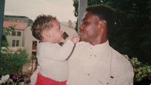 Jérôme Boateng und sein Vater Prince Boateng