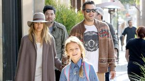 Jessica Alba, Honor Marie Warren, Haven Garner Warren und Cash Warren