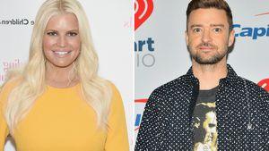 Wegen Wette: Jessica Simpson knutschte mit Justin Timberlake