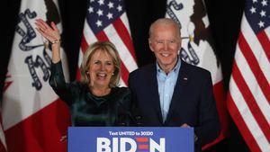 Joe Bidens Ehefrau Jill lehnte seine Heiratsanträge erst ab