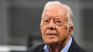Kurz nach Kopf-OP: Jimmy Carter ist wieder im Krankenhaus