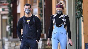 So entspannt gehen Neu-Eltern Joe und Sophie Turner shoppen
