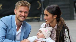 Hanna, Jörn & Delias allererstes Pic als Familie Schlönvoigt