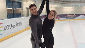 """Joey Heindle und Ramona: Paar-Probleme bei """"Dancing on Ice""""?"""