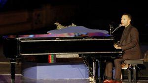 John Legend bei der Opening Ceremony zum 25. Jubiläum des Disneylands Paris