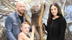 Familienausflug: John Travolta genießt Freizeit mit Kindern