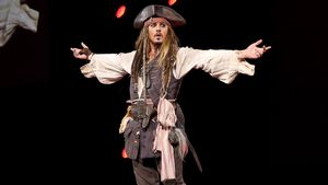 Johnny Depp als Jack Sparrow
