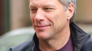 Gealterter Rock-Rentner: Jon Bon Jovi ganz ergraut