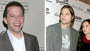 Jon Cryer knutschte mit Ashton Kutchers Demi!