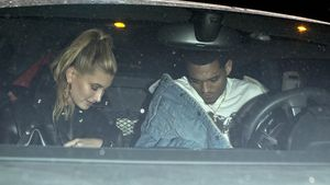Jordan Clarkson und Hailey Baldwin in Los Angeles