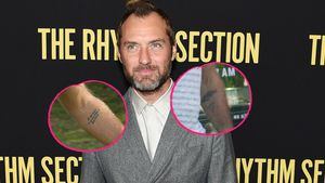 "Ciao ""Sexy Sadie"": Jude Law hat Liebestattoo covern lassen"