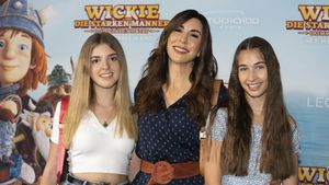 Selten: Judith Williams mit Teenie-Töchtern auf Red Carpet