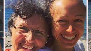 Triathletin Julia Viellehner mit ihrer Mutter Irmgard