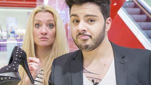 "Huch! DSDS-Duo albert sich durch ""Shopping Queen"""