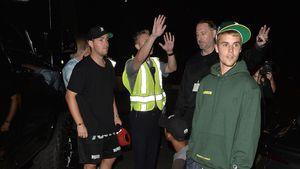 Justin Bieber bei einem Verkehrsunfall