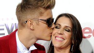 "Zu ""geil""? Justin Biebers Mutter ermahnt Fans"