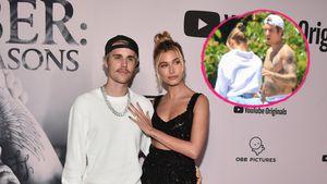 Süß! Hier werfen Justin und Hailey Bieber zusammen Körbe
