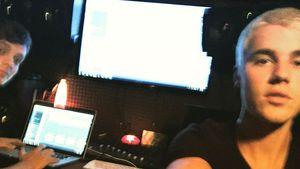 Justin Bieber und Martin Garrix im Studio