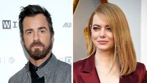 Justin Theroux & Emma Stone nur Freunde? Er ist in Datelaune