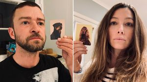 Justin Timberlake und Jessica finden ihre Hunde-Doppelgänger