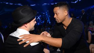 Neu auf Insta: Justin Timberlake begrüßt Will Smith mit TBT!