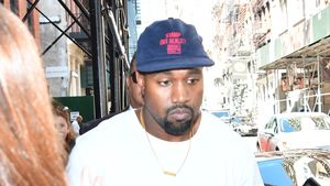 Kanye West in Manhattan