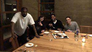 Kid Cudi feierte Geburtstag mit Kanye West und Pete Davidson