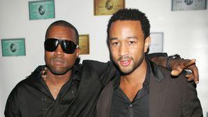 Gab es Zoff? Kanye West und John Legend keine Freunde mehr!