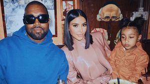 North genervt: Kim Kardashian teilt süßen Familien-Throwback