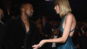 Kanye West und Taylor Swift bei den 57. GRAMMY Awards 2015 in L.A.