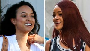 Rihanna und Karrueche Tran