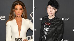 Kate Beckinsale und Toyboy gestehen sich im Netz ihre Liebe