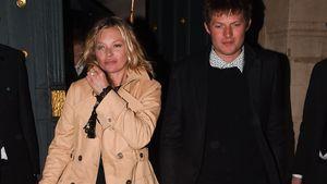 """Kate Moss und Nikolai von Bismark beim erlassen der Cocktail-Bar """"Miu Miu"""" in Paris"""