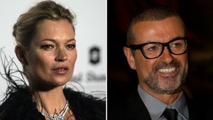 Kate Moss und George Michael