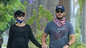 Schwangere Katherine und Chris Pratt voll verliebt unterwegs