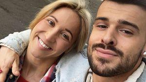 Endlich! Kathrin Menzinger und ihr Freund wieder vereint