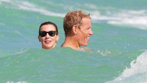 Bade-Spaß: Katie Cassidy relaxt mit ihrem neuen Lover