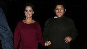Hand in Hand: Harvey besucht Mama Katie Price im Theater