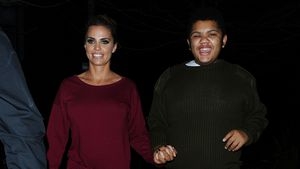 Katie Price und Harvey 2015 in Woking