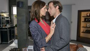 Katrin (Ulrike Frank) und Bommel (Merlin Leonhardt)
