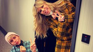 Reunion mit Heidi Klum: Katy Bähm ist am GNTM-Set zu Besuch!