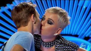 "Shitstorm! Katy Perry gab ""American Idol""-Bewerber 1. Kuss"