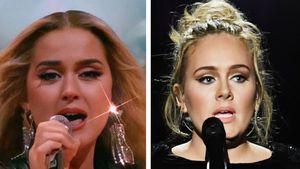 Doppeltes Lottchen: Hier sieht Katy Perry aus wie Adele