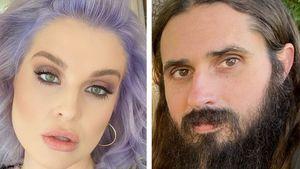 Leidenschaftlich: Kelly Osbourne knutscht ihren Freund ab