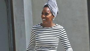 So leger kleidet sich Kelly Rowland in ihrer Schwangerschaft