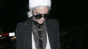 Sexy zu Halloween: Kendall Jenner als Miss Karl Lagerfeld