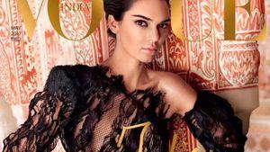 Kendall Jenner auf dem Cover der indischen Vogue